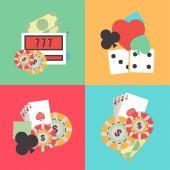 jeux de casino illustration